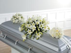 Sympathy Casket Spray