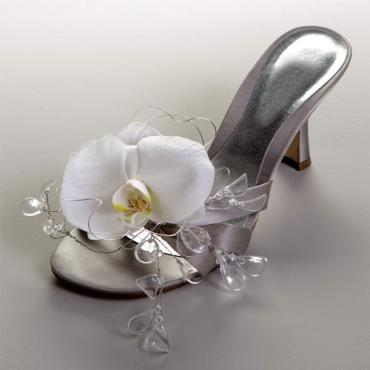 Orchid Shoe Decoration