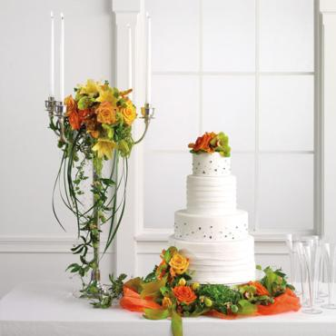 Deluxe Table and Cake Decoration