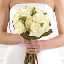 Deluxe Clutch Bridal Bouquet